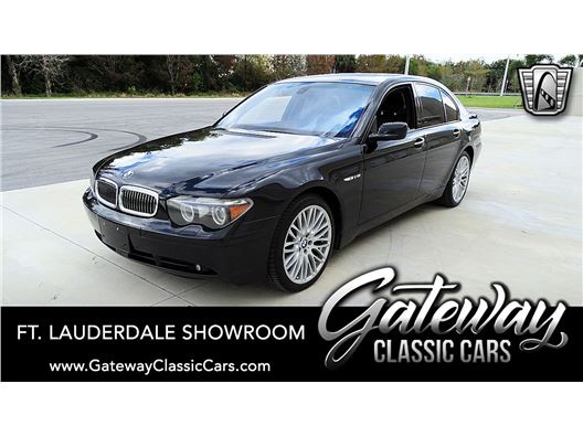 2005 BMW 760I for sale in Coral Springs, Florida 33065