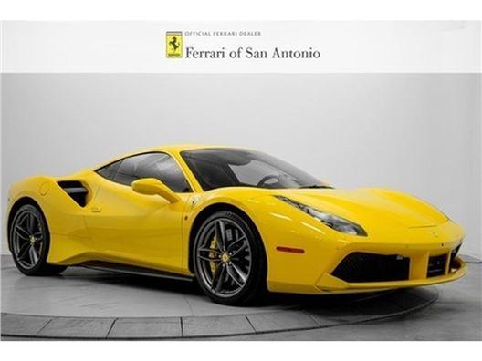 2018 Ferrari 488 GTB for sale in San Antonio, Texas 78249