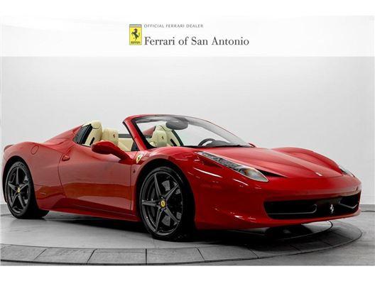 2015 Ferrari 458 Spider for sale in San Antonio, Texas 78249
