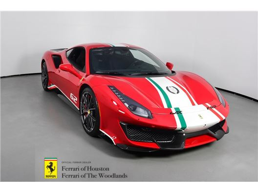 2019 Ferrari 488 Pista Piloti for sale in Houston, Texas 77057