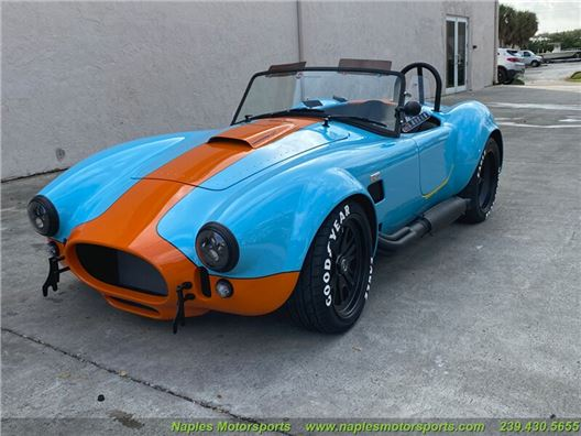 1965 Replica/Kit BackDraft Racing 427 Shelby Cobra Replica for sale in Naples, Florida 34104