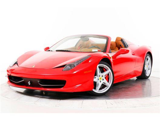 2013 Ferrari 458 Spider for sale in Long Island, Florida 33308