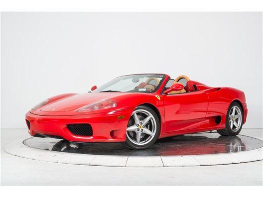 2004 Ferrari 360 Spider F1 for sale in Long Island, Florida 33308