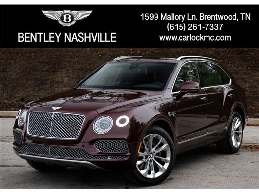 2019 Bentley Bentayga for sale in Brentwood, Tennessee 37027