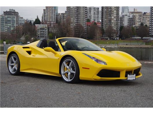 2017 Ferrari 488 for sale in Vancouver, British Columbia V6J 3G7 Canada