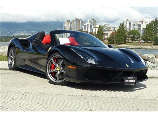 2018 Ferrari 488 for sale in Vancouver, British Columbia V6J 3G7 Canada