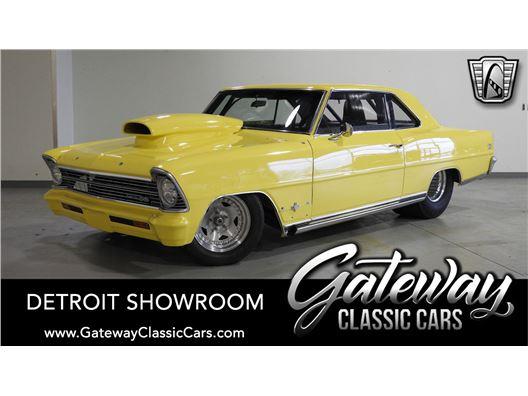 1966 Chevrolet Nova for sale in Dearborn, Michigan 48120