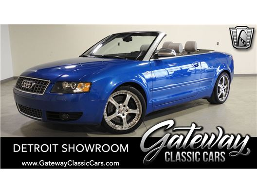 2004 Audi S4 for sale in Dearborn, Michigan 48120