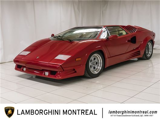 1990 Lamborghini Countach for sale in Montreal, Quebec H9H 4M7 Canada