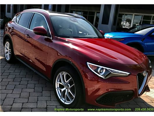 2019 Alfa Romeo Stelvio Ti Lusso AWD for sale in Naples, Florida 34104