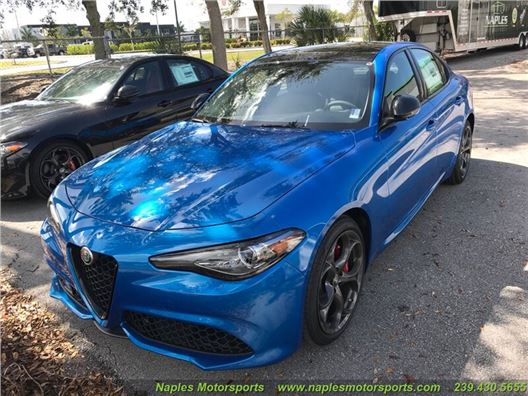 2019 Alfa Romeo Giulia Ti Sport for sale in Naples, Florida 34104