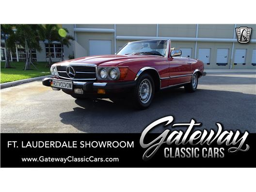 1985 Mercedes-Benz 380SL for sale in Coral Springs, Florida 33065