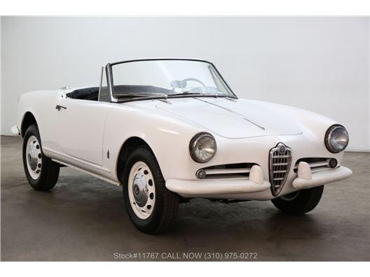 1962 Alfa Romeo Giulietta Spider for sale in Los Angeles, California 90063
