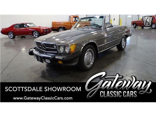 1987 Mercedes-Benz 560SL for sale in Phoenix, Arizona 85027