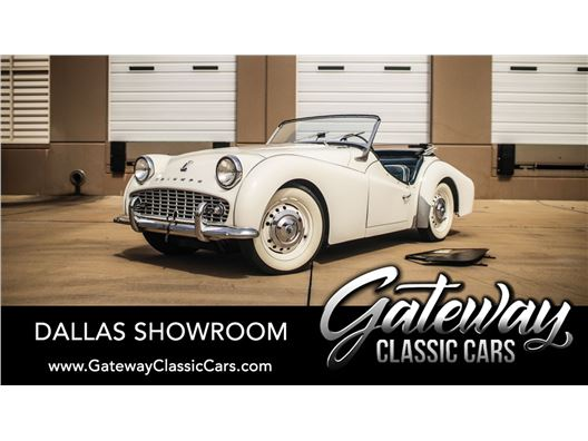 1960 Triumph TR3A for sale in DFW Airport, Texas 76051