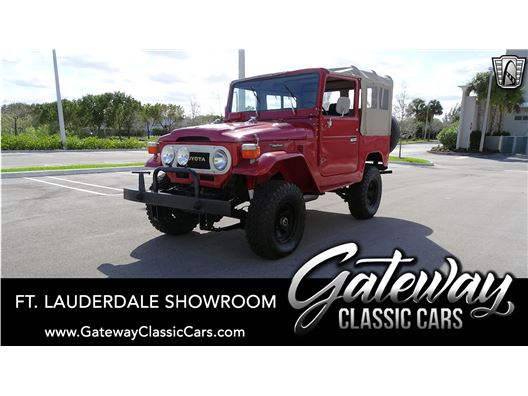 1976 Toyota FJ40 for sale in Coral Springs, Florida 33065