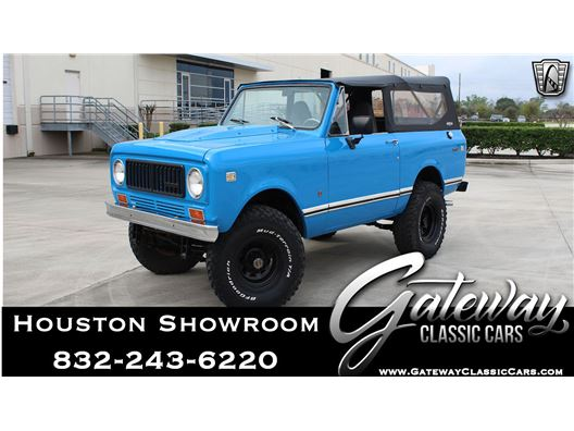 1974 International Scout for sale in Houston, Texas 77090