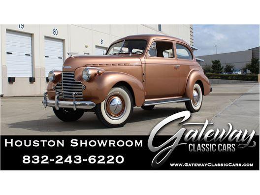 1940 Chevrolet Master Deluxe for sale in Houston, Texas 77090