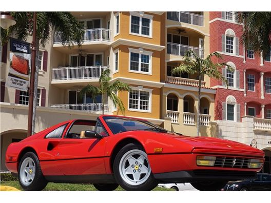 1986 Ferrari 328 GTS for sale in Naples, Florida 34104