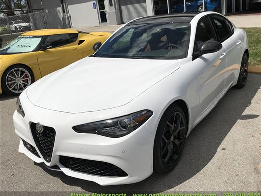 2020 Alfa Romeo Giulia Ti Sport for sale in Naples, Florida 34104