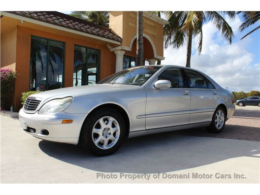 2001 Mercedes-Benz S-Class for sale on GoCars.org