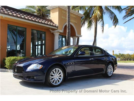 2010 Maserati Quattroporte for sale on GoCars.org