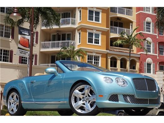 2012 Bentley Continental GT GTC for sale in Naples, Florida 34104