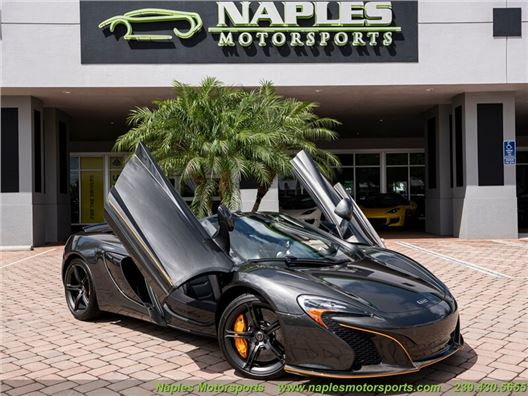 2015 McLaren 650S Spider for sale in Naples, Florida 34104