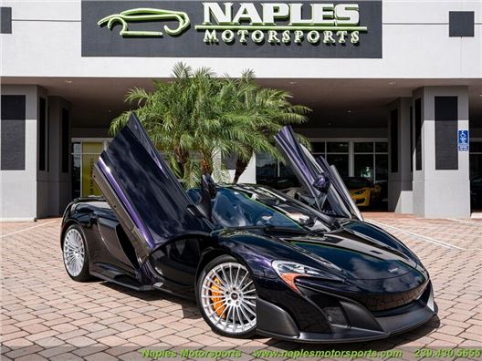2016 McLaren 675LT Convertible for sale in Naples, Florida 34104