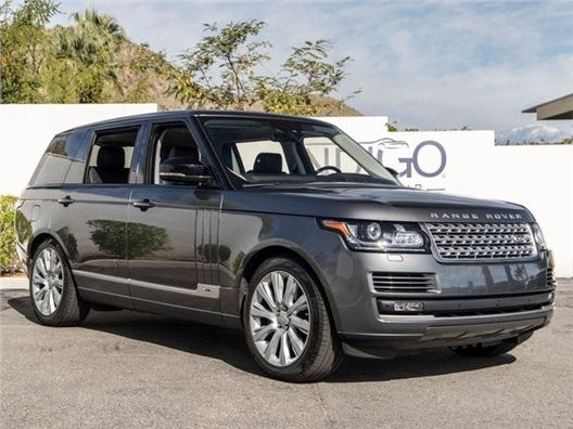 2017 Land Rover Range Rover for sale in Rancho Mirage, California 92270