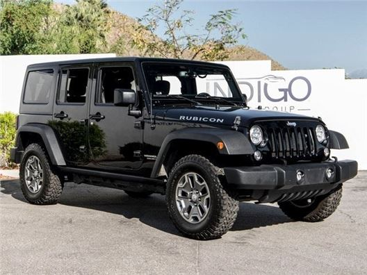 2017 Jeep Wrangler Unlimited for sale in Rancho Mirage, California 92270