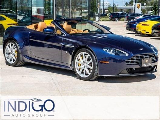2013 Aston Martin V8 Vantage for sale in Houston, Texas 77090