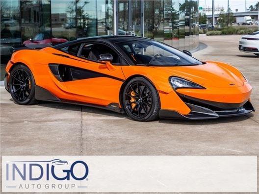 2019 McLaren 600LT for sale in Houston, Texas 77090