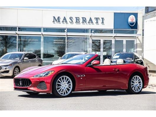 2019 Maserati GranTurismo Convertible for sale in Sterling, Virginia 20166
