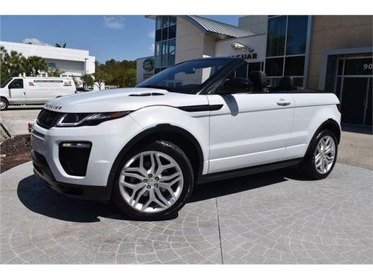 2017 Land Rover Range Rover Evoque Convertible for sale in Naples, Florida 34102