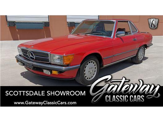 1986 Mercedes-Benz 500SL for sale in Phoenix, Arizona 85027