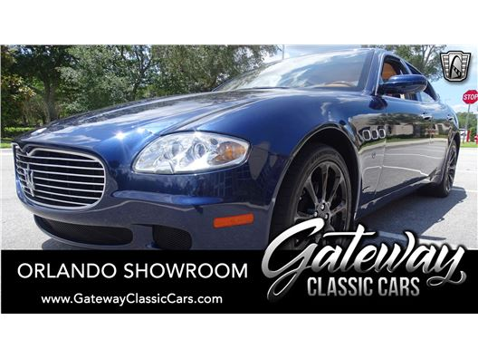 2007 Maserati Quattroporte for sale in Lake Mary, Florida 32746