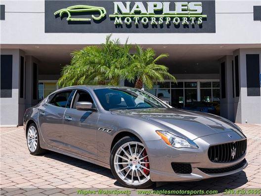 2015 Maserati Quattroporte GTS for sale in Naples, Florida 34104