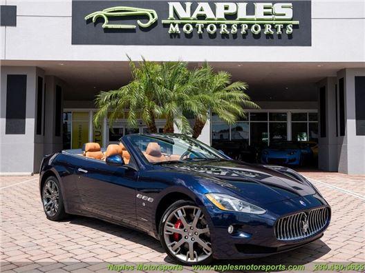 2015 Maserati Gran Turismo Convertible for sale in Naples, Florida 34104