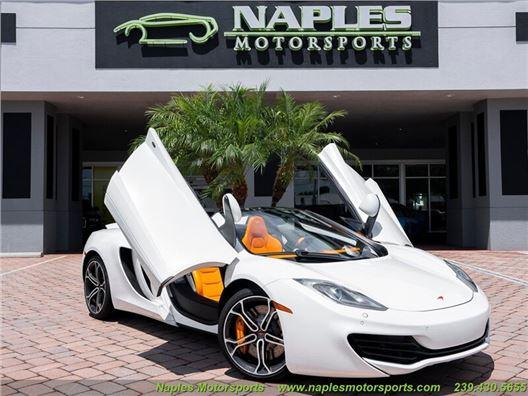 2013 McLaren MP4-12C Spider for sale in Naples, Florida 34104