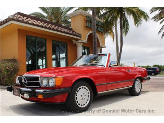 1987 Mercedes-Benz 560 for sale in Deerfield Beach, Florida 33441