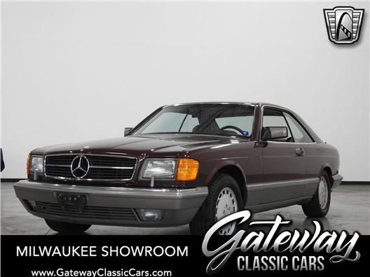 1988 Mercedes-Benz 560SEC for sale in Kenosha, Wisconsin 53144