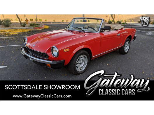 1983 Fiat Spider for sale in Phoenix, Arizona 85027