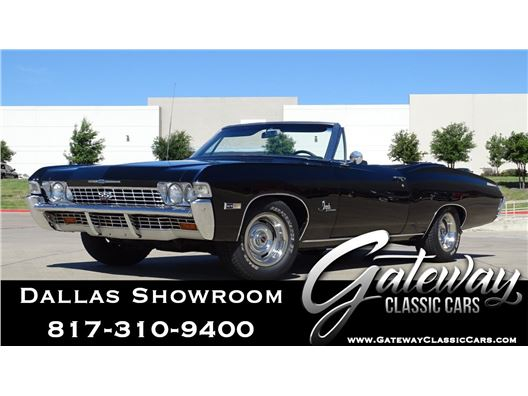 1968 Chevrolet Impala for sale in DFW Airport, Texas 76051