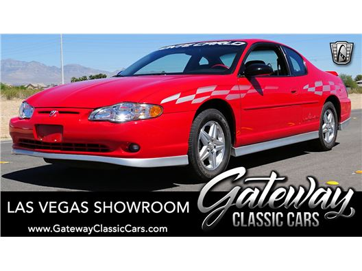2000 Chevrolet Monte Carlo for sale in Las Vegas, Nevada 89118