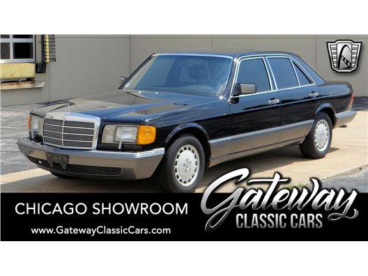 1990 Mercedes-Benz 300SE for sale in Crete, Illinois 60417