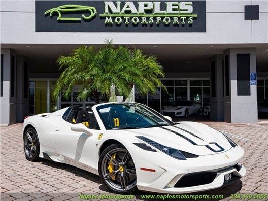 2015 Ferrari 458 Speciale Aperta for sale in Naples, Florida 34104
