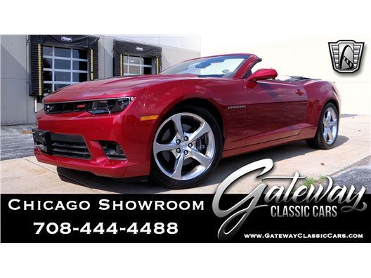 2015 Chevrolet Camaro for sale in Crete, Illinois 60417