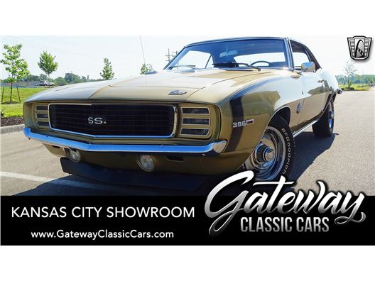 1969 Chevrolet Camaro SS for sale in Olathe, Kansas 66061