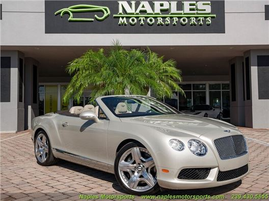 2015 Bentley Continental GT GTC Convertible for sale in Naples, Florida 34104